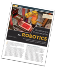 How to Develop a Company Plan for Robotics