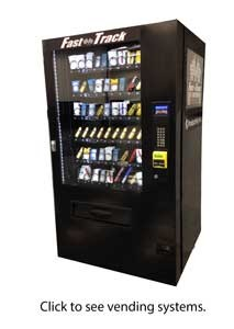 Fast Track Machine Vending System