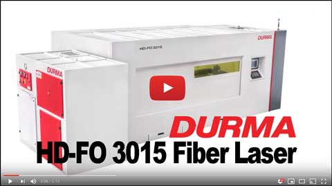 Productivity Durma HD-FO 3015 Fiber Laser Machine Tool Video Icon