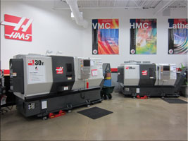 Productivity Haas Factory Outlet Showroom