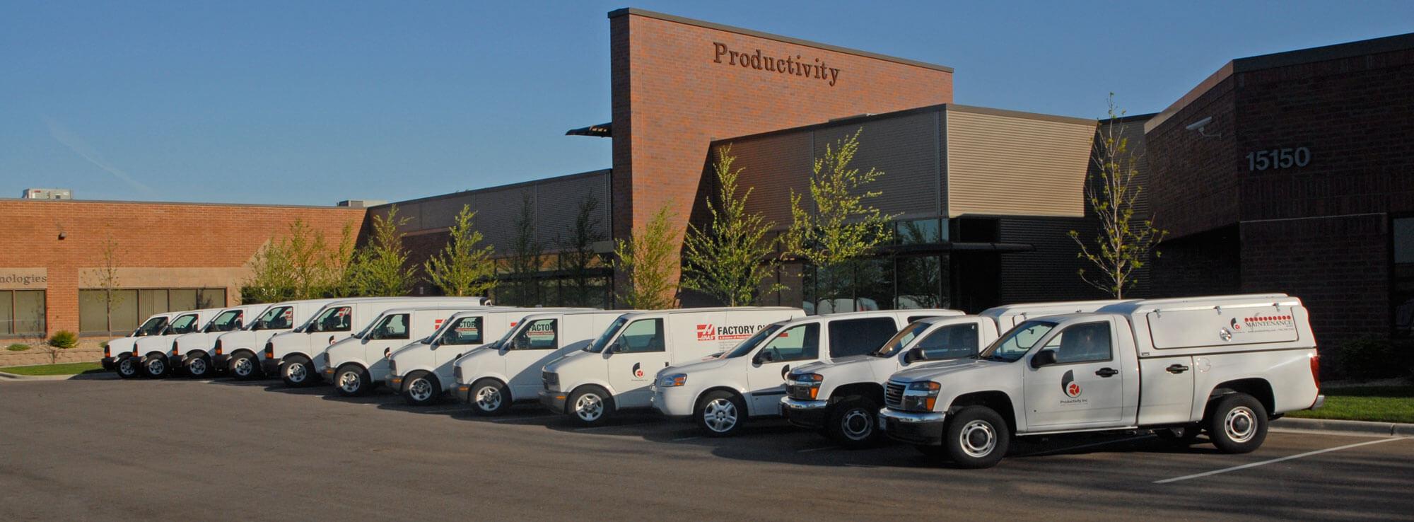 Productivity Service Vans