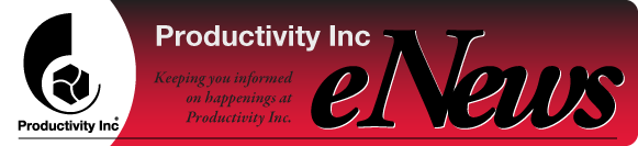 Productivity eNews Masthead