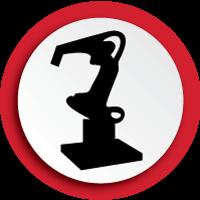 Robotics and automation icon