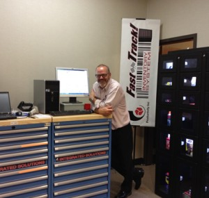 Fast Track Inventory System at the Oktoberfest Tool Show