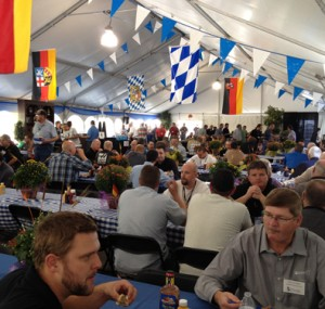 Lunch at the Oktoberfest Tool Show 3