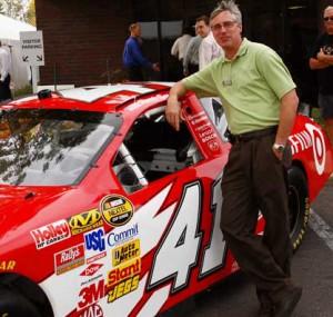 Stewart-Haas #41 racecar at Oktoberfest Tool Show