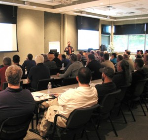 Lecture on machine tools at Oktoberfest Tool Show