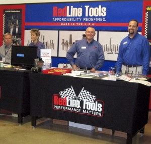 RedLine Tools booth at the Oktoberfest Tool Show