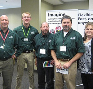 Tooling team at the Oktoberfest Tool Show