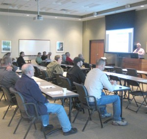 Lecture presentation at the Oktoberfest Tool Show