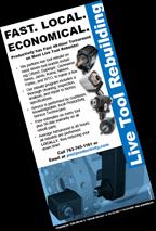 Productivity Live Tool Repair Brochure Image