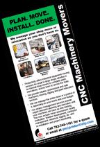 Productivity CNC Machine Moving Brochure Image