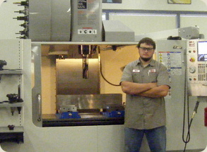 Productivity Gene Haas Foundation Indian Hills College Student