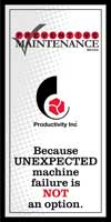 Productivity Preventive Maintenace Brochure Thumbnail