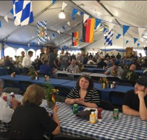 Lunch at the Oktoberfest Tool Show