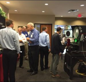 Machine tool demonstrations at the Oktoberfest Tool Show