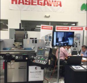 Hasegawa machine tools at the Oktoberfest Tool Show