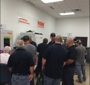 Machine tool booths at the Oktoberfest Tool Show