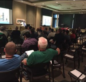 Lecture presentation at the Oktoberfest Tool Show 2