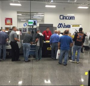 Man giving tooling advice at the Oktoberfest Tool Show