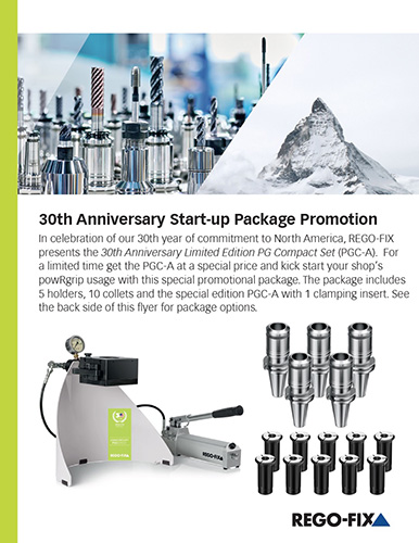 Rego-Fix 30th Anniversary Start-up Package Promotion