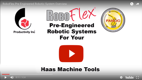 RoboFlex Flexible Manufacturing Systems Video Thumb