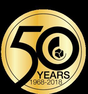 Productivity 50 Year Anniversary Logo