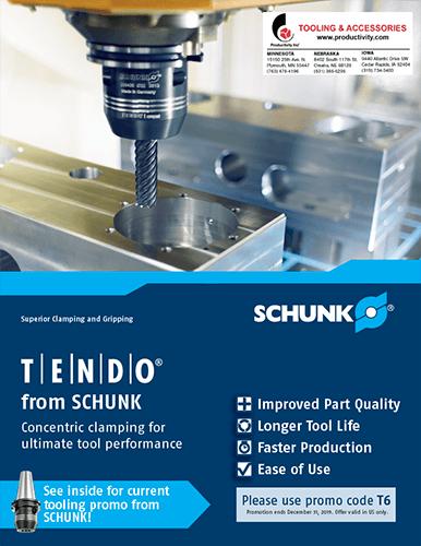 Schunk TENDO E Compact & Sleeve Promotion