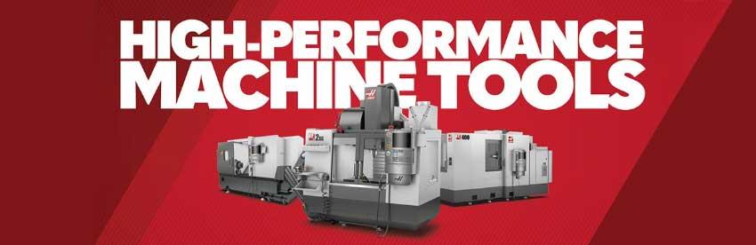 Haas CNC Machine Tools Banner
