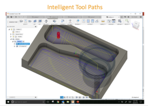 High Efficiency Milling - Intelligent Tool Path