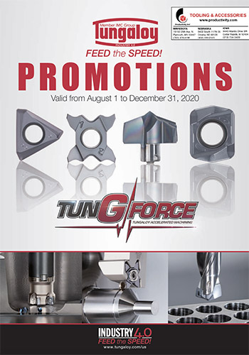 Feed the Speed Tungaloy Promotions