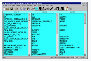 Citizen Cincom WINCNC Programming Software