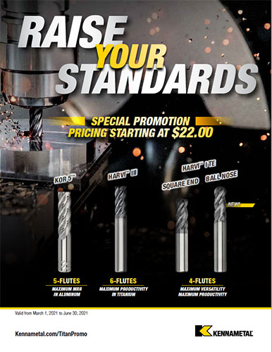 Kennametal Raise Your Standards