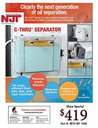Nexjen Technologies C-Thur Separator