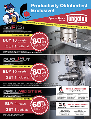 Tungaloy Oktoberfest Exclusive Offer!